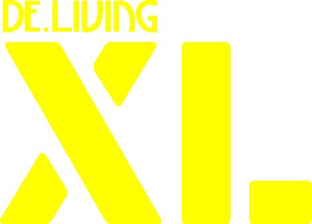 De.Living XL – Geel logo – Transparant
