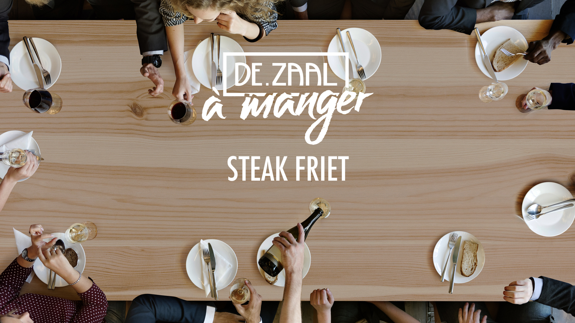 De.Zaal a Manger - Steak friet